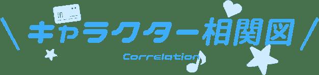 キャラクター相関図/CHARACTER