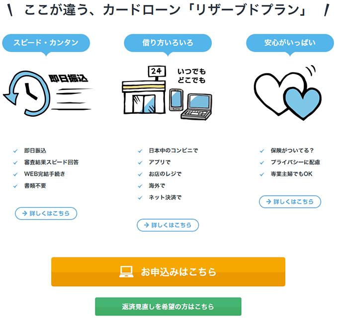 スルガ銀行カードローンはWEB申込①